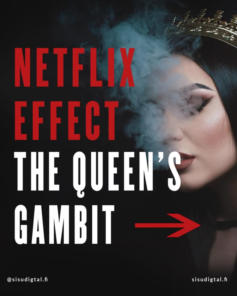 Netflix effect - The Queen's Gambit 1