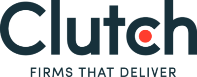 New Clutch co Tagline  logo