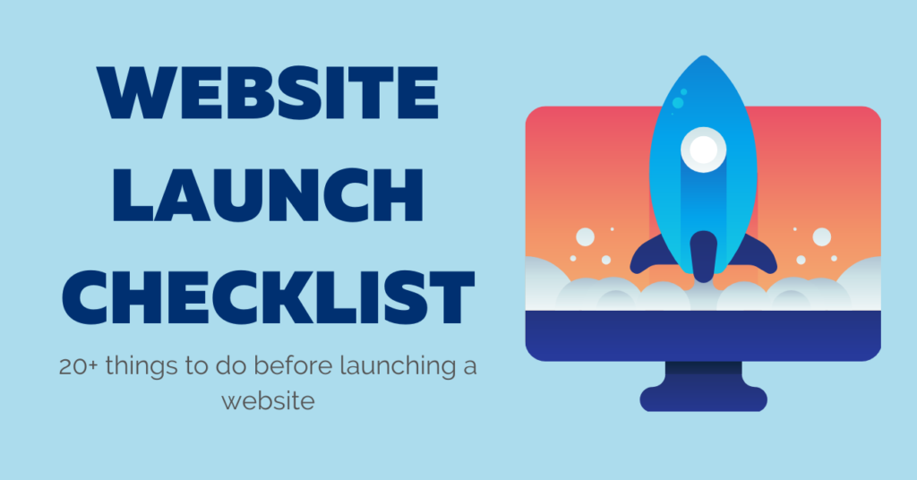 website-launch-checkliste