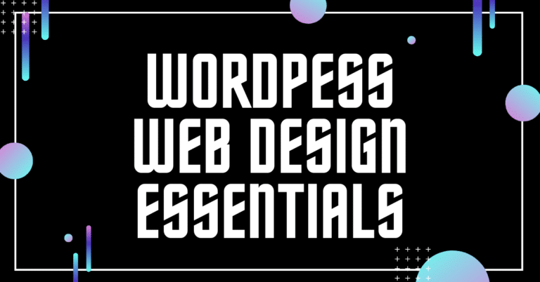 WordPress Web Design Essentials 1