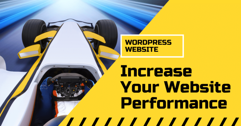 How to Increase Website Performance - WordPress speed optimization